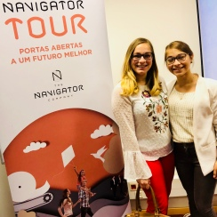 Excited about the day at Navigator Company!